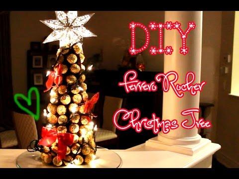 DIY Ferrero Rocher Christmas Tree - DIY Ferrero Rocher Christmas Tree - YouTube