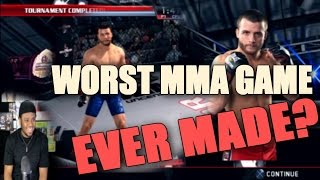 THE WORST MMA GAME EVER MADE!