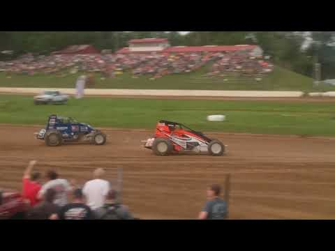 MSCS Sprint Car Heat 2 Paragon Speedway 5/31/19