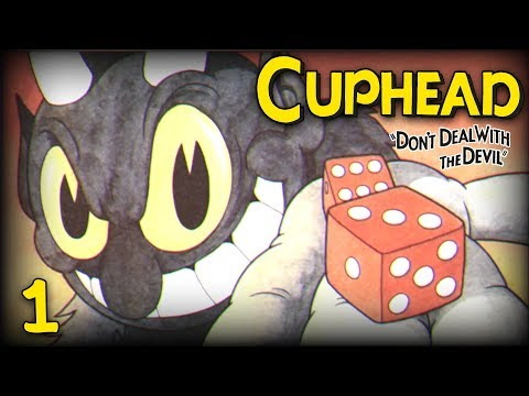 Terrible, Awful, No Good Accents | Cuphead (PC Gameplay) Blind Coop Campaign | Part 1