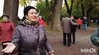 Танцы сентября Парк культуры Калуга 26.09.21 #танцы#парк#пенсионеры