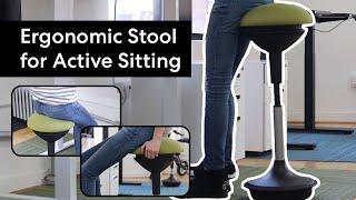 Autonomous ErgoStool: Ergonomic Stool for Active Sitting!