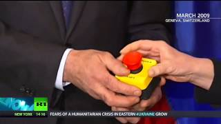 Лаврову подарили красную кнопку: США объявила войну России (НАТО Украина войска вторжение Москва)
