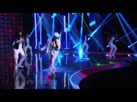 Ne-Yo - Let Me Love you - Live @ AGT (Good Quality)