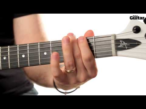 Guitar Lesson: Learn how to play Pantera - Becoming intro riff (TG253)