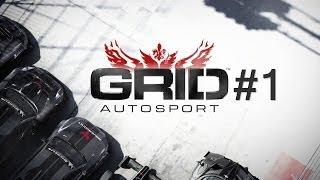 GRID Autosport PC Gameplay / Początki / PL HD Kamera PrzeMci0x