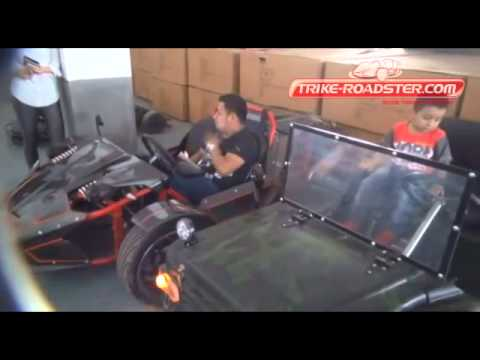 250CC ZTR Trike Roadster Experience by Peru Customer - YouTube
