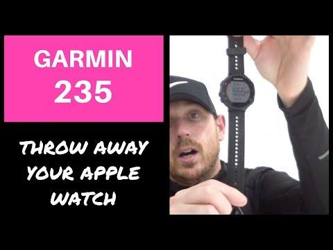 GARMIN 235 FORERUNNER REVIEW   BEST RUNNING GPS WATCH? (2018)