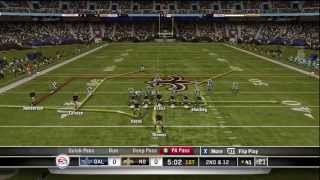 Madden NFL 11 - Cowboys at Saints - Part 1 of 5