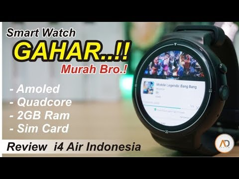 Smartwatch Murah tapi GAHAR - RAM 2GB, Quadcore, AMOLED | Review i4 Air INDONESIA