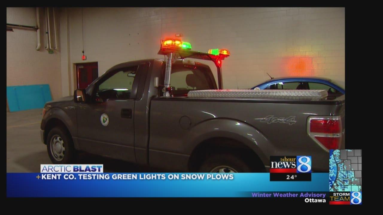 Kent Co Wants New Green Lights For Plow Trucks Youtube