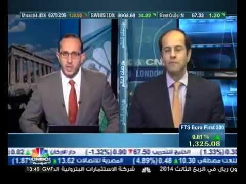 أشرف العايدي على سي ان بي سي العربية – 29 أكتوبر 2014 Chart