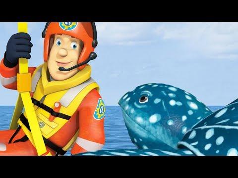 Download Youtube: Fireman Sam New Episodes | Turtle Hunt 🐢 1 HOUR Season 9 | Cartoons for Children