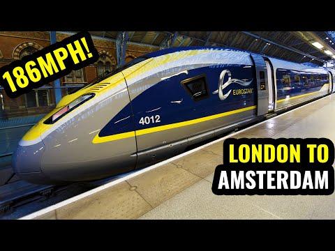 EUROSTAR Standard Premier: LONDON TO AMSTERDAM In 3.5 Hours!