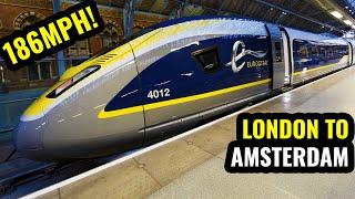 EUROSTAR Standard Premier: LONDON TO AMSTERDAM in 3.5 Hours!.mp3
