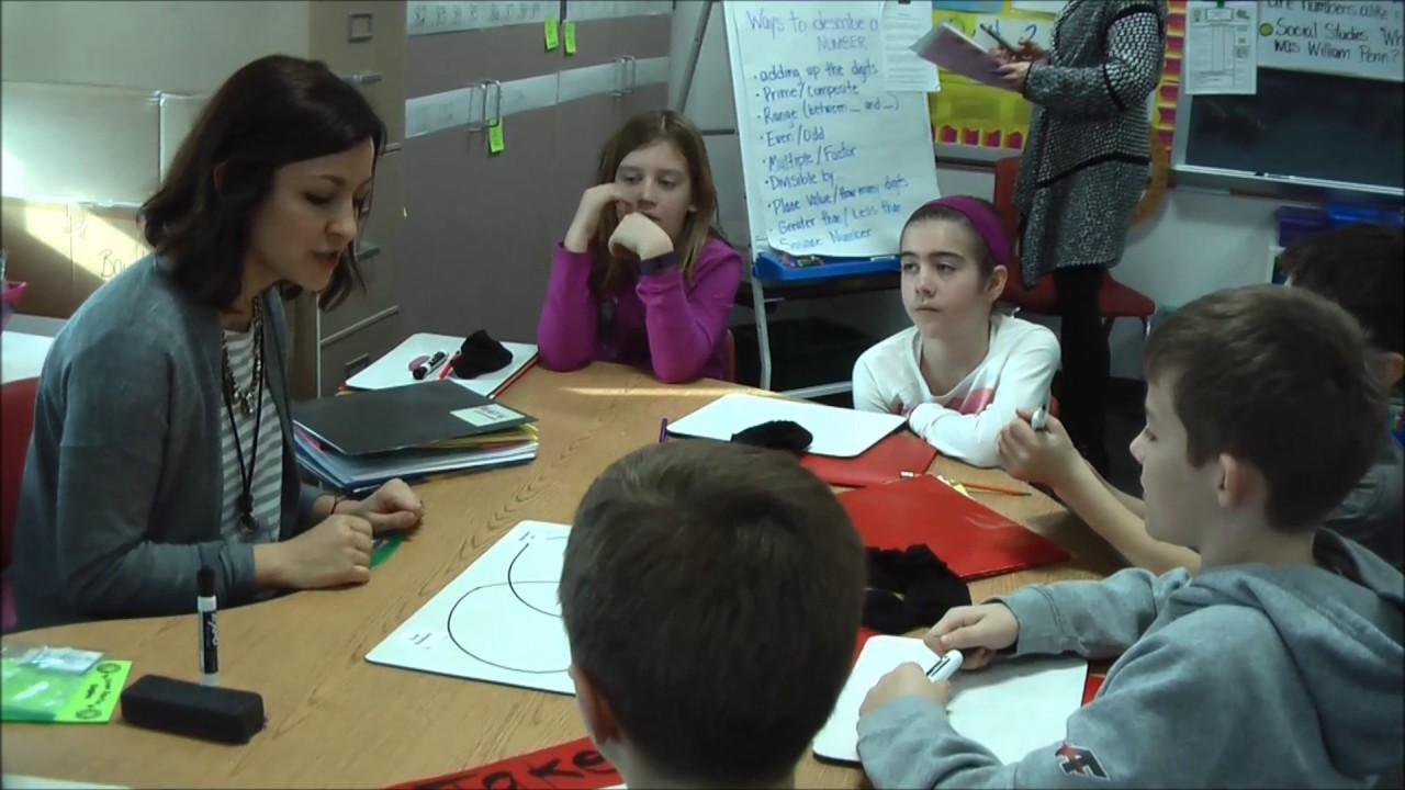 4th Grade Classroom 3 Small Group Instruction Guided Math Youtube