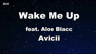 Wake Me Up - Avicii Karaoke 【No Guide Melody】 Instrumental