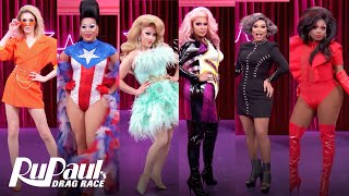 RuPaul's Drag Race All Stars 5 Queens RuVeal 🌟Werkroom Entrances