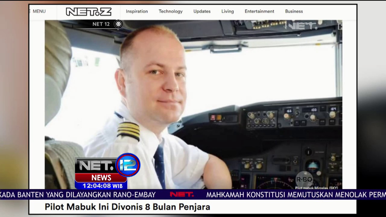 Video Pilot Mabuk