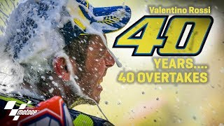 40 overtakes for Rossi's 40 birthday thumbnail