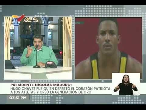 Presidente Maduro defiende a Julio Mayora tras ser insultado por dedicar medalla a Hugo Chávez