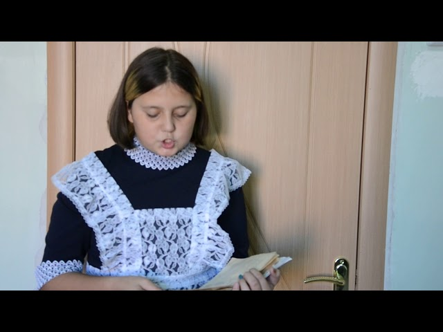 Изображение предпросмотра прочтения – СофияЧеркашина читает произведение «Стихотворение в прозе. Порог» И.С.Тургенева