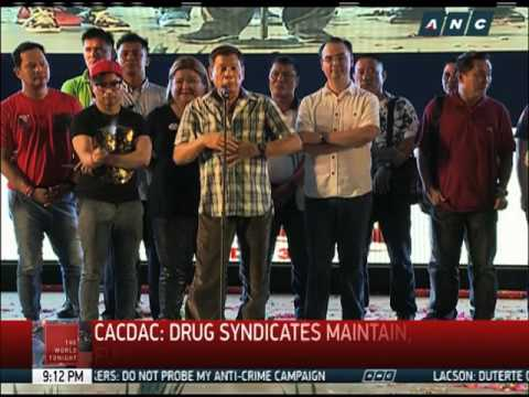 PDEA: Duterte to get list of drug lords