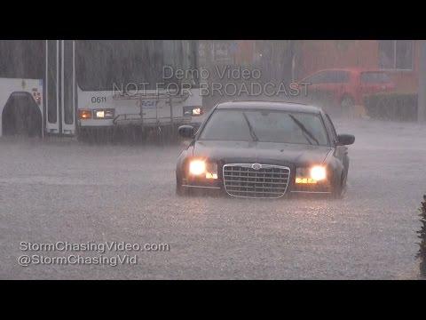 Sarasota, FL extreme flooding on US41 - 5/4/2016