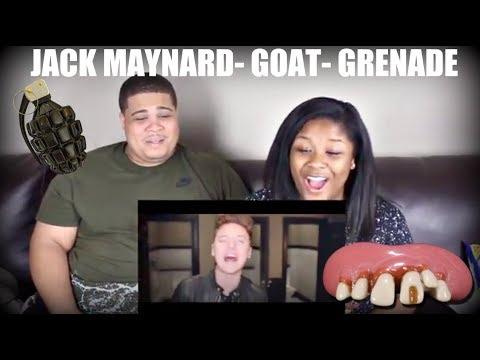 JACK MAYNARD- GOAT- GRENADE (Ft. CONOR MAYNARD) REACTION!