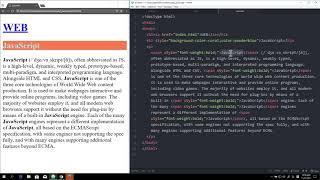 WEB2 JavaScript - 10.CSS 기초 (style 태그)