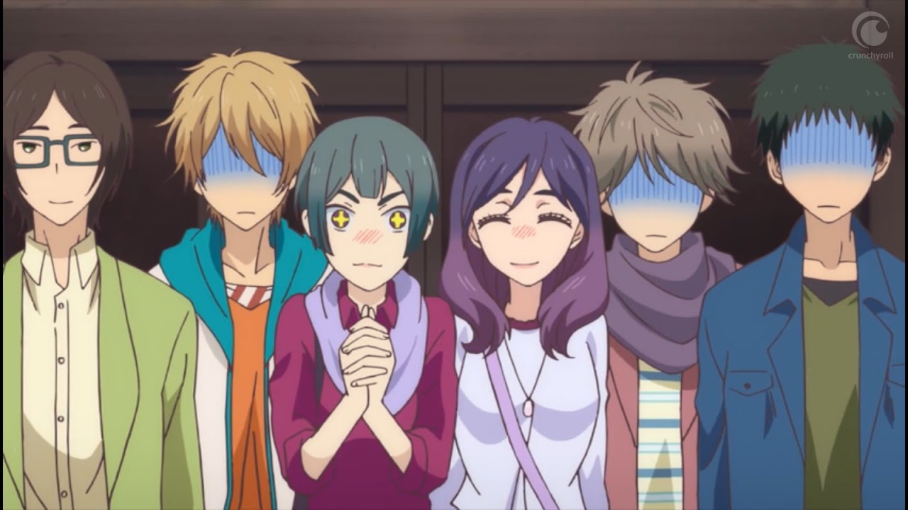 Image result for kiss him not me anime ?