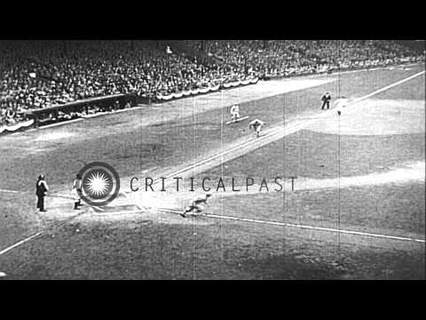 Game 7 World Series baseball match between Detroit Tigers and St. Louis Cardinals...HD Stock Footage