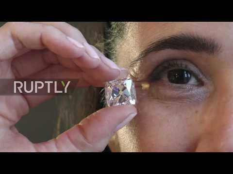 D for DAZZLING? World's largest D-colour diamond heads for auction in Geneva