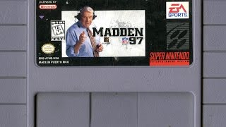 CGR Undertow - MADDEN NFL 97 review for Super Nintendo