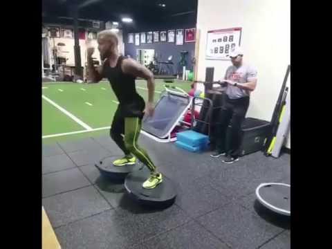 Jose Reyes Training Extreme GYM time