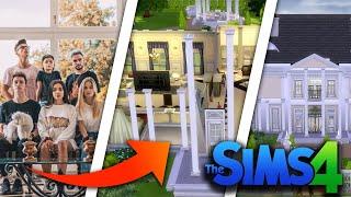 DZIEŃ w Domu X   Team X w Sims 4 #01