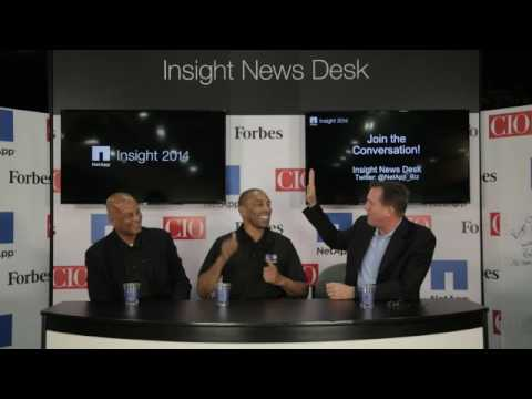 NetApp Insight with Ronnie Lott and Roger Craig Interview
