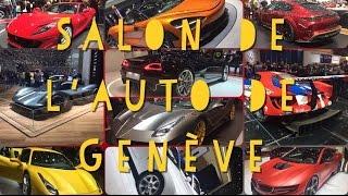 Salon de l'auto Genève // vol.1 (Ferrari, Mclaren, Mansory, Gemballa...)