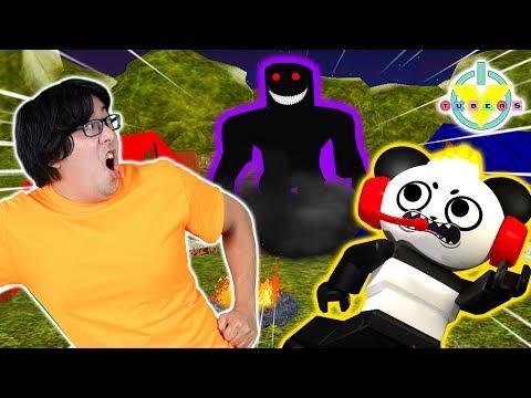 Escape ROBLOX Evil CAMPING Trip  Ryan&39;s Daddy Vs Combo Panda