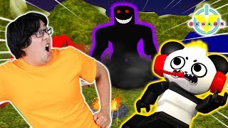 Escape ROBLOX Evil CAMPING Trip ! Ryan's Daddy Vs Combo Panda