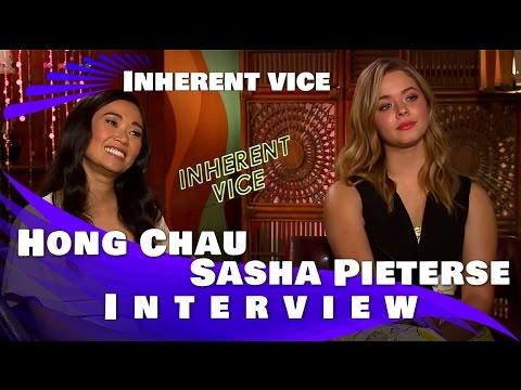 Inherent Vice  Sasha Pieterse and Hong Chau