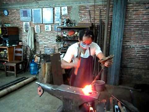 Soldadura En Fragua Forge Welding 2 Youtube