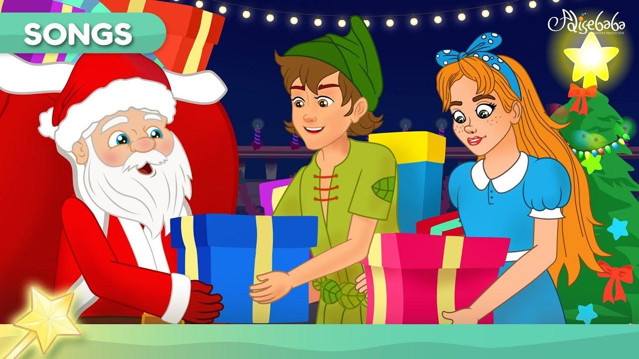 Jingle Bells (NEW) animation | Christmas Songs | Christmas Carols | Bedtime Stories for Kids