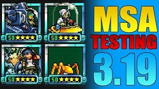 Metal Slug Attack 3.19.0 | GOLDEN PROFESSOR, MS-ALICE.GHOST X2, SPECIAL AMBER