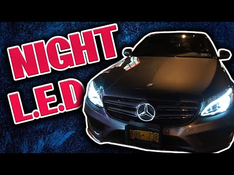 2017 Mercedes Benz C Class Sport (Night Review) LED