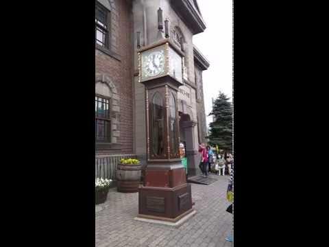 Steam clock @ Otaru Music Box Museum