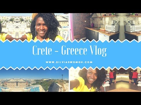 Crete Greece Heraklion Vlog Time! My Trip to The Beautiful Island!