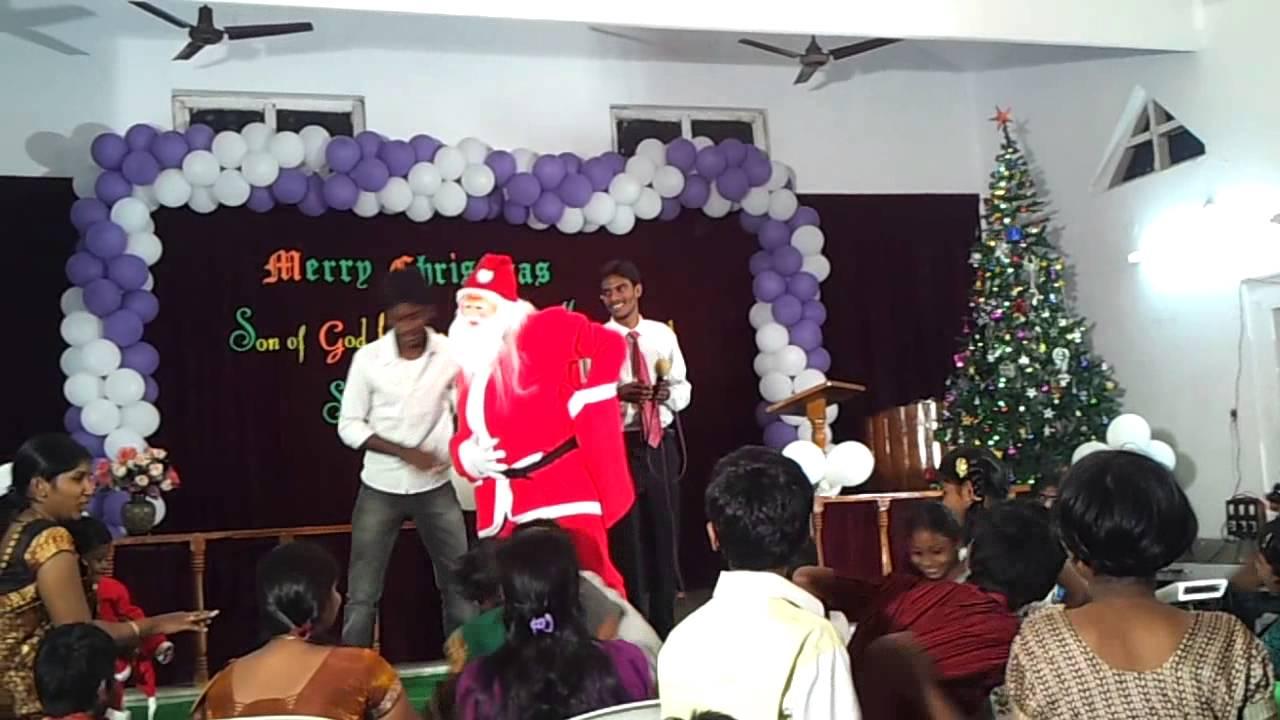 santa dance in sda church rajahmundry - YouTube