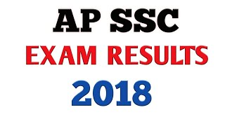Ap ssc results || ap 10th class results 2018