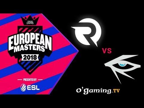 European Masters Finale - OG vs IHG